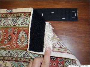Velcro on carpet