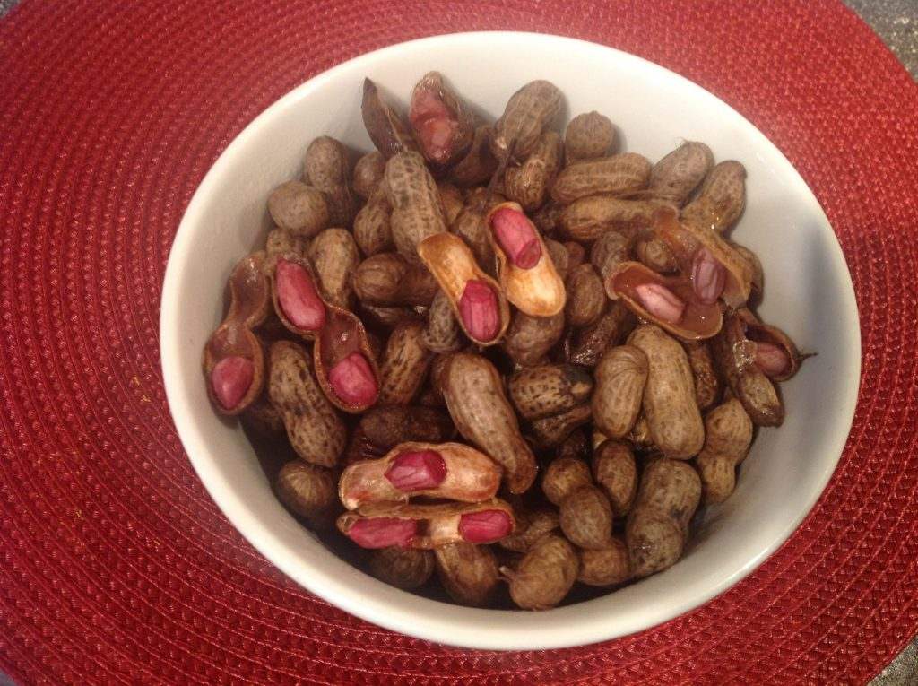 boiled groundnut