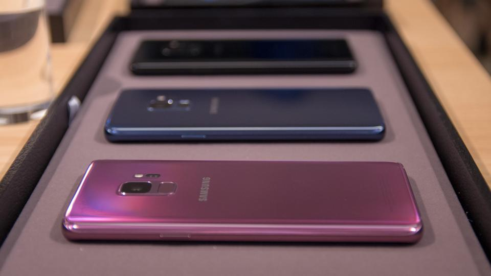 samsung s9 colours