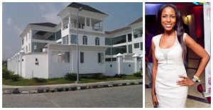 linda ikeji banana island mansion