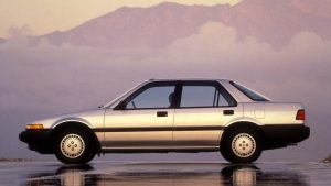 Third-Generation 1986 Honda Accord Sedan