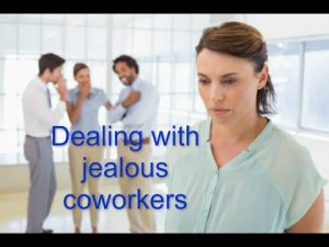 jealous co-worker