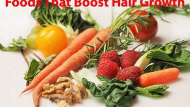 foods that boost hair growth